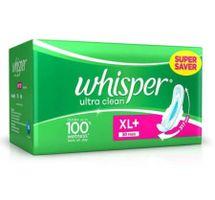 Whisper Ultra Clean XL Plus (30 Pads)