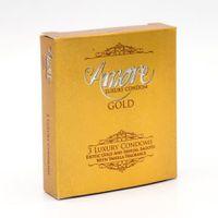 Condom Amore Luxury Condom Gold