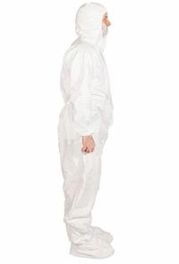 PPE (Washable) Personal Protective Suit with shoe cover
