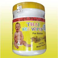 Thai Wet Wipes For Baby Moist Tissue-170